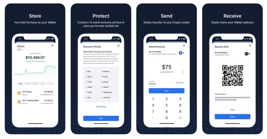 Blockchain Wallet App - Sending Money from Bitcoin Paper Wallet