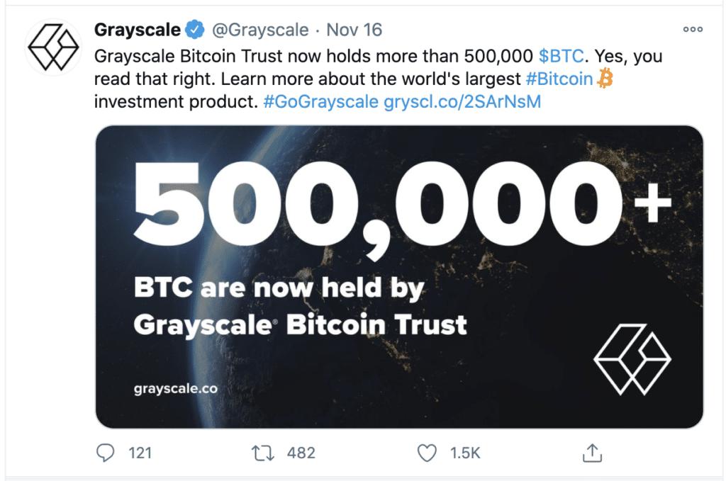 Grayscale 500k bitcoin